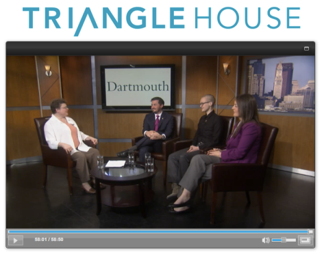 Triangle House Webinar, Dartmouth LGBT