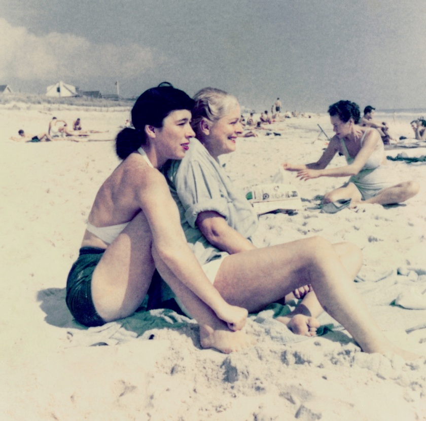 Patricia Fitzgerald and Kay Guinness, Cherry Grove Beach